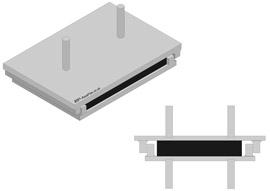 Elastomer-friction bearing support