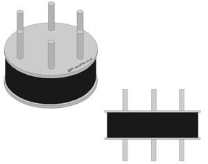 Bridge bearing Circular Type